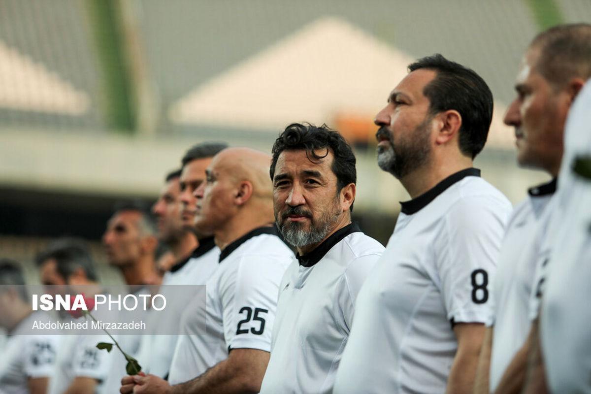 پایان بازی یادبود مهرداد میناوند و علی انصاریان