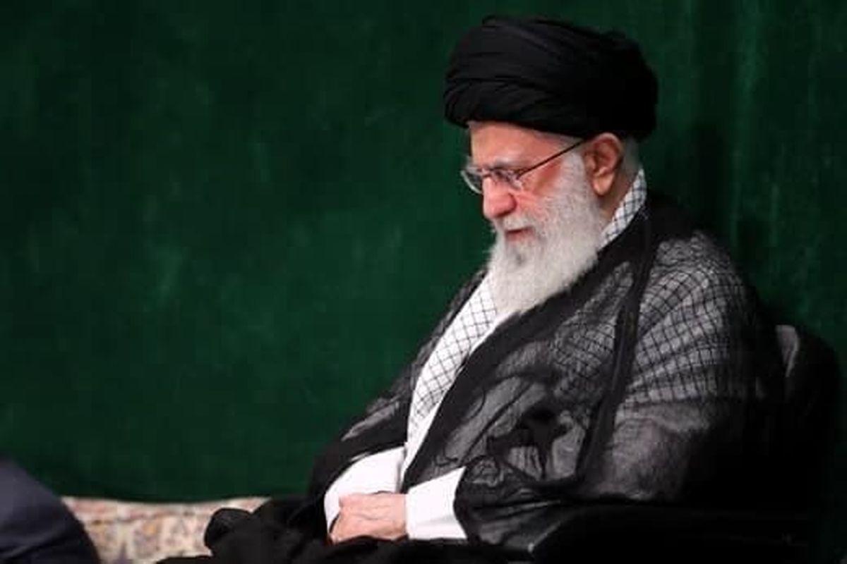 رهبر انقلاب در مراسم عزاداری اربعین حسینی(ع) +عکس