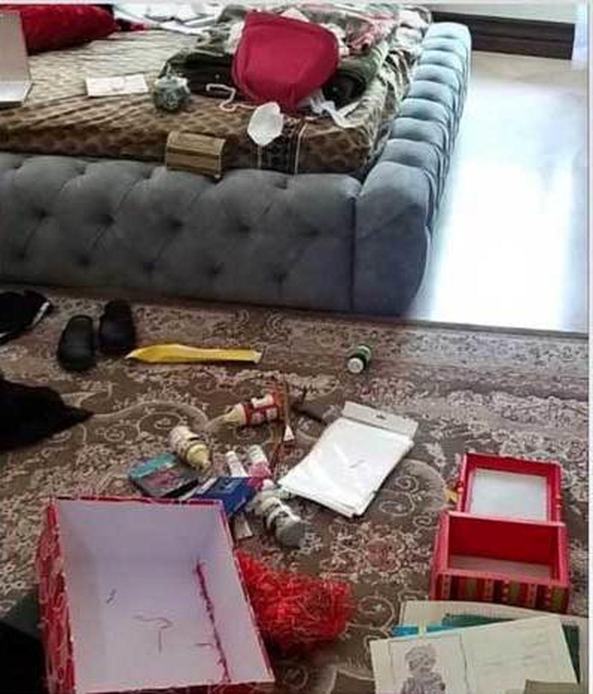 دزدی از خانه بازیگر زن سریال گاندو +عکس