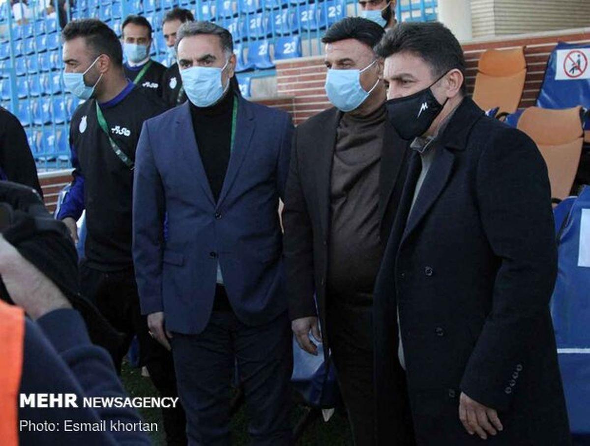 امیر قلعه نویی در راه استقلال!