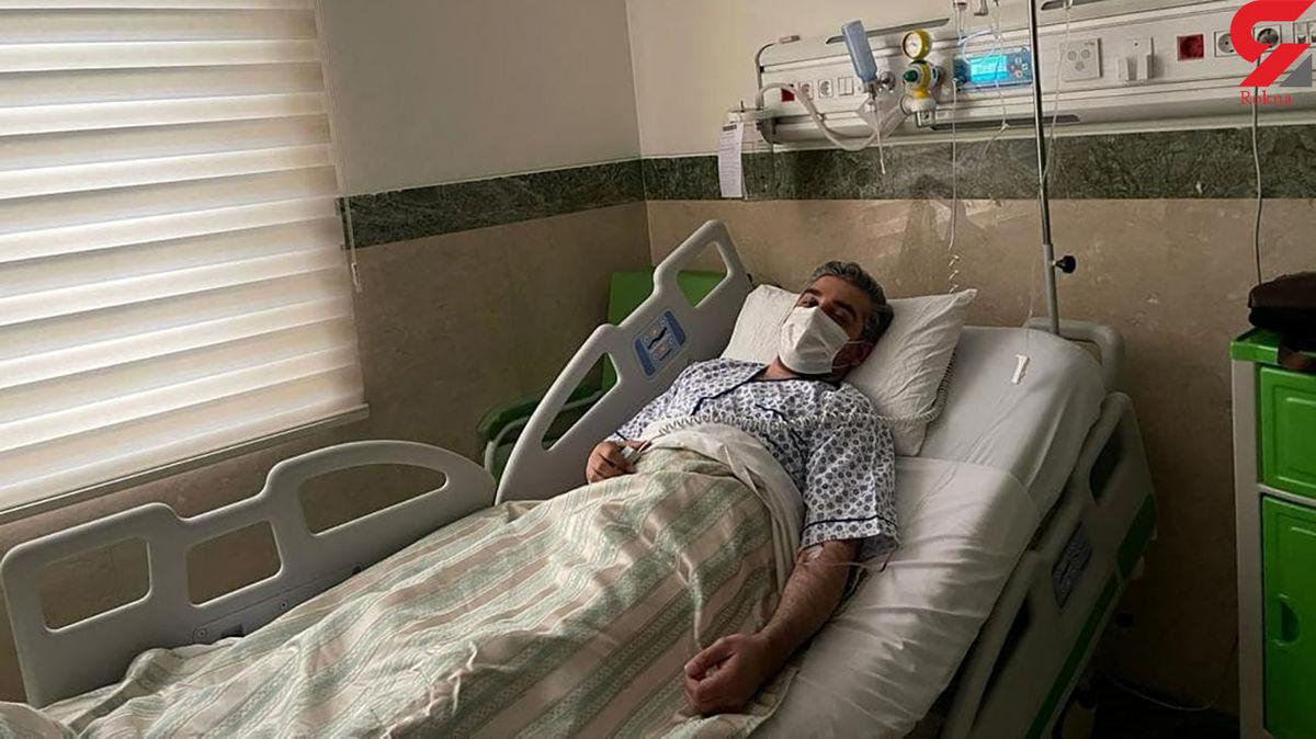 وخامت کرونای خبرنگار معروف +عکس در بیمارستان