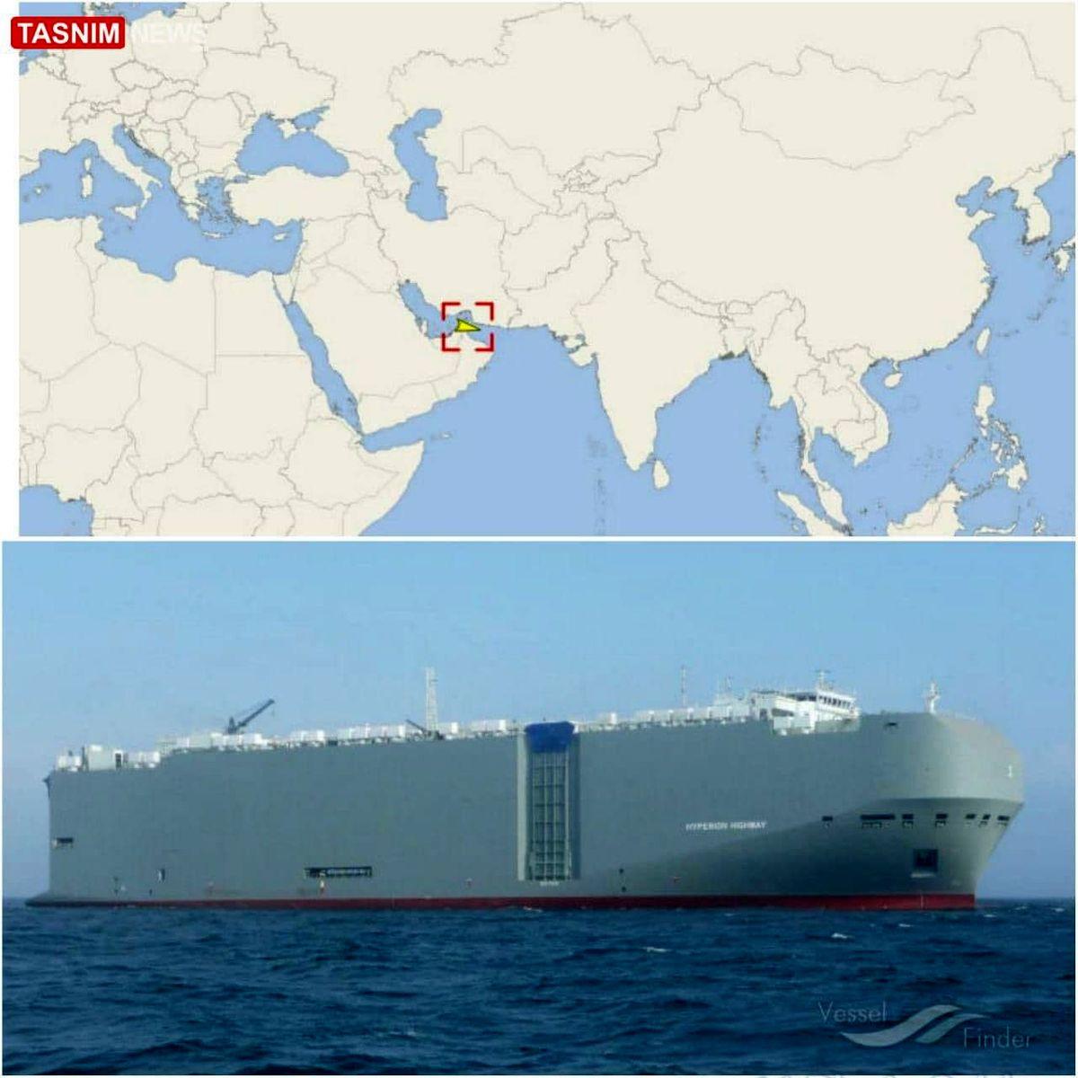 اطلاعاتی درباره کشتی هدف قرار گرفته اسرائیلی