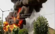 انفجار شدید در محله جوانمرد قصاب +عکس