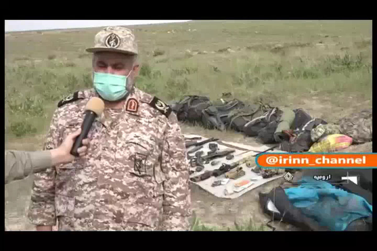 متلاشی شدن یک تیم تروریستی در منطقه مرزی سلماس