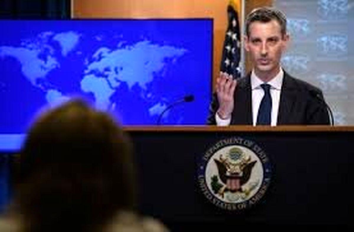 تمایل واشنگتن برای شرکت در مذاکرات با ایران