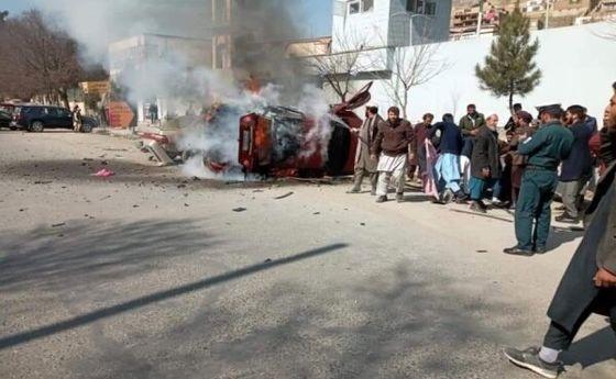 انفجار عصر امروز کابل +فیلم (+18)