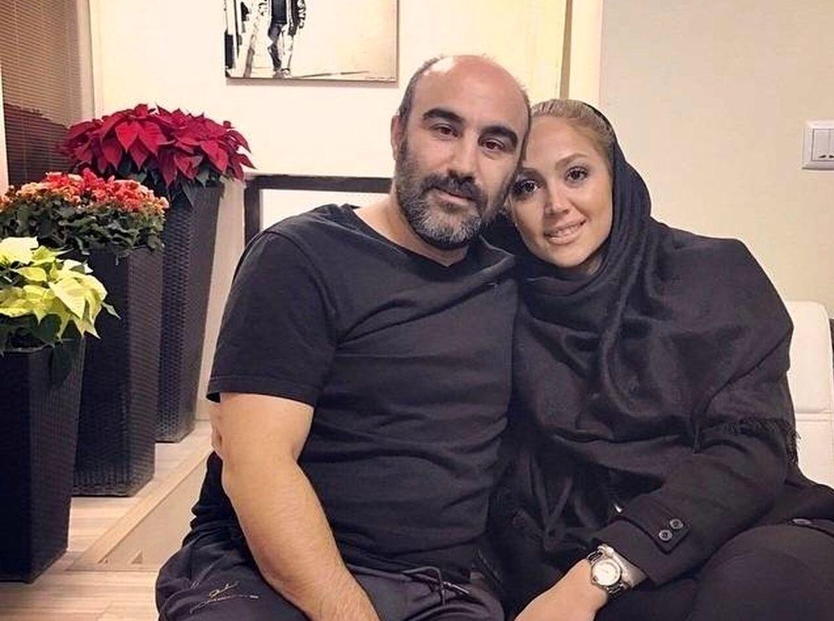 عکس زیر خاکی و سمی محسن تنابنده سوژه شد + عکس تنابنده و همسرش در خارج