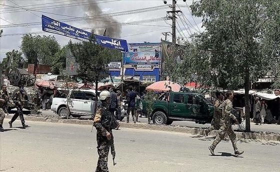 صدای انفجار مهیب در کابل