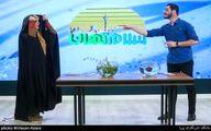 شوخی عجیب مجری در برنامه زنده تلویزیون! +فیلم