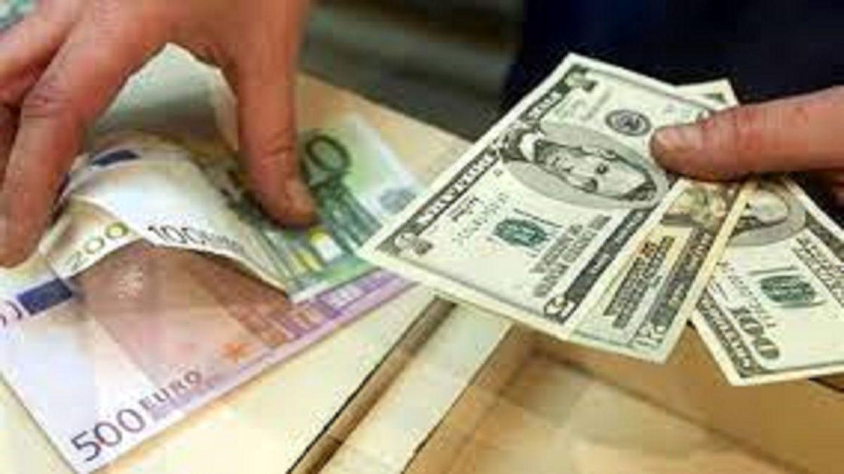 قیمت جدید دلار و یورو در صرافی ملی