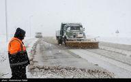 کولاک برف و کاهش ۱۸ درجه ای دما در برخی استان ها