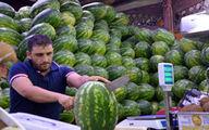 بازار داغ فروش هندوانه در ایتالیا +فیلم