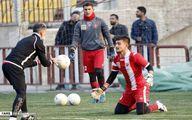 گزارش تصویری از تمرین پرسپولیس  با هدایت گل محمدی