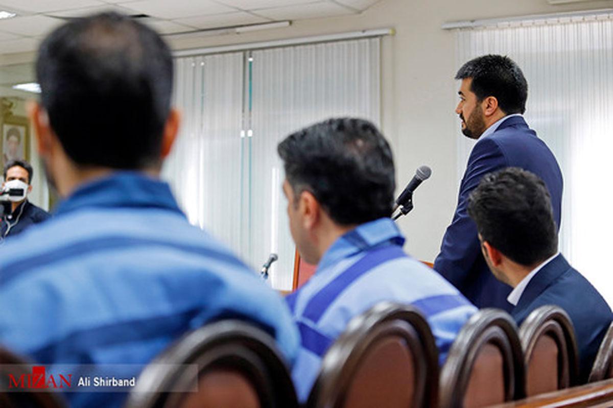 تصاویر: حواشی دهمین دادگاه ۲۱ متهم کلان ارزی