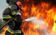 یک برج در مشهد دچار آتشسوزی شد