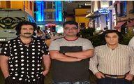 گریم متفاوت مهدی هاشمی و مهران احمدی در «کوسه» +عکس