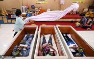 فریب دادن مرگ در مراسم عجیب تایلندی ها! +عکس
