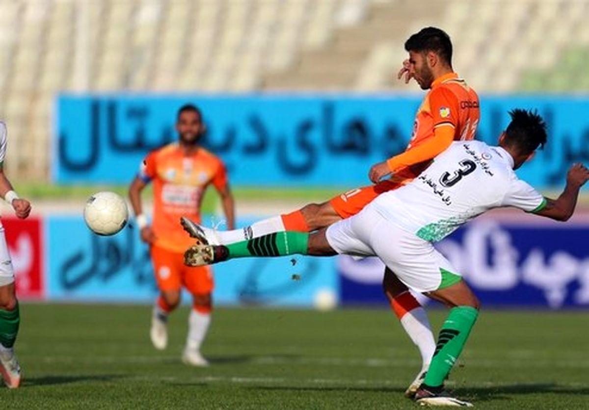 نتایج بازی های امروز لیگ برتر فوتبال