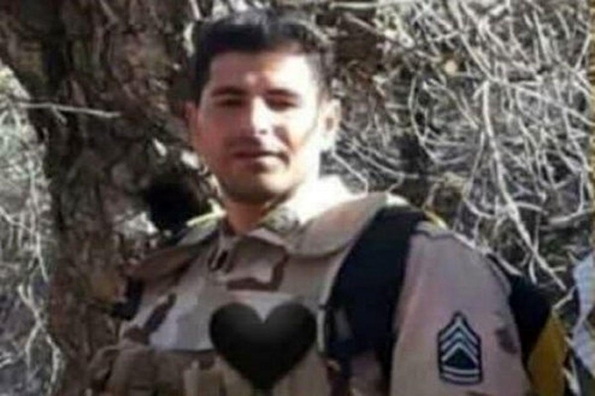 شهادت مرزبان مجاهد ناجا در مرز مریوان +عکس