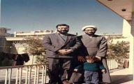 تصویری جالب و قدیمی از آملی لاریجانی در خانه