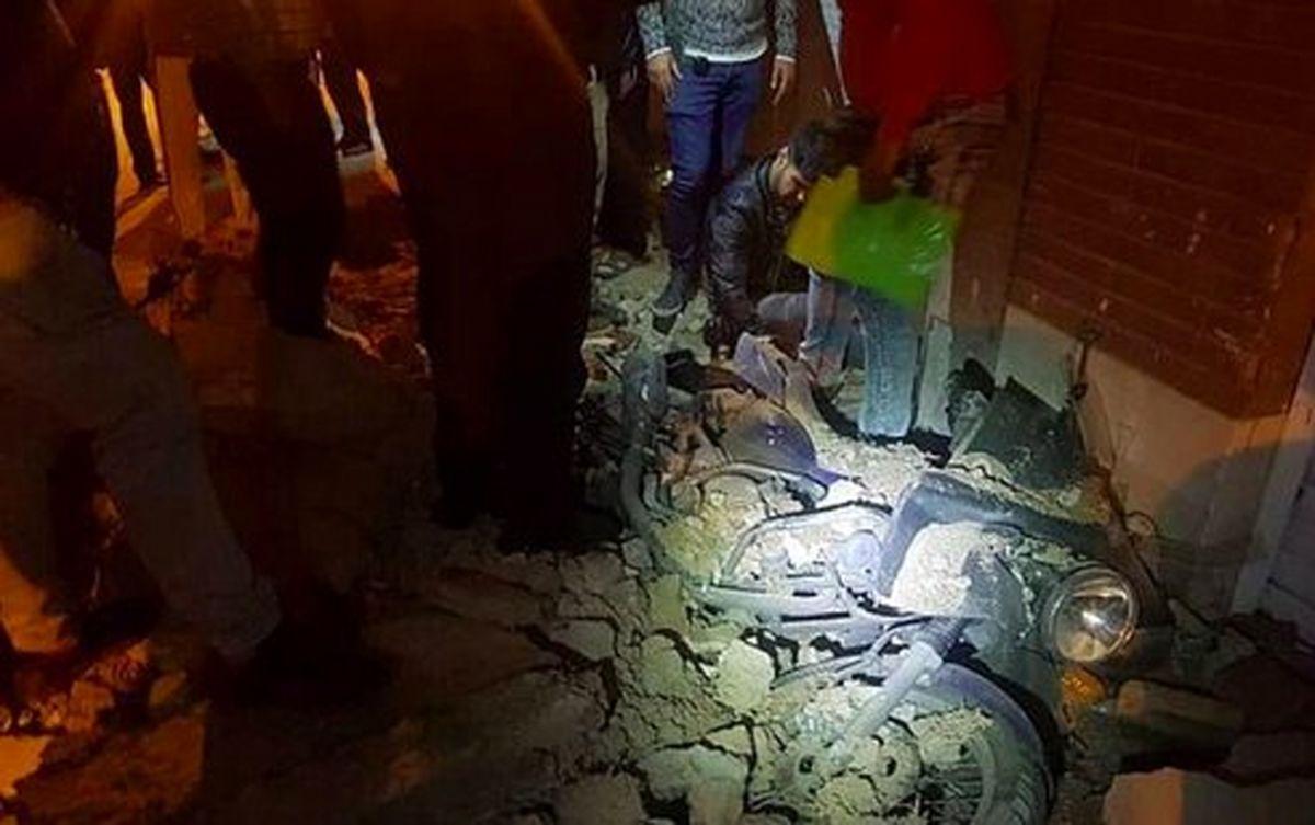 ریزش آوار در جنوب تهران