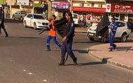 حمله مزدوران آلخلیفه به نمادهای فاطمیه +تصاویر