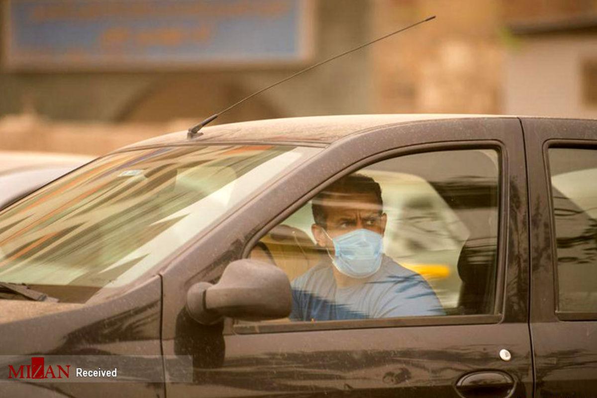 تصاویر: طوفان شن در مصر