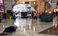 تصاویر: مصائب بارش شدید باران در انگلیس