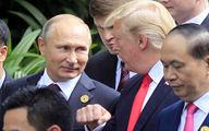 فیلم: حاشیه کادوی جنجالی پوتین به ترامپ