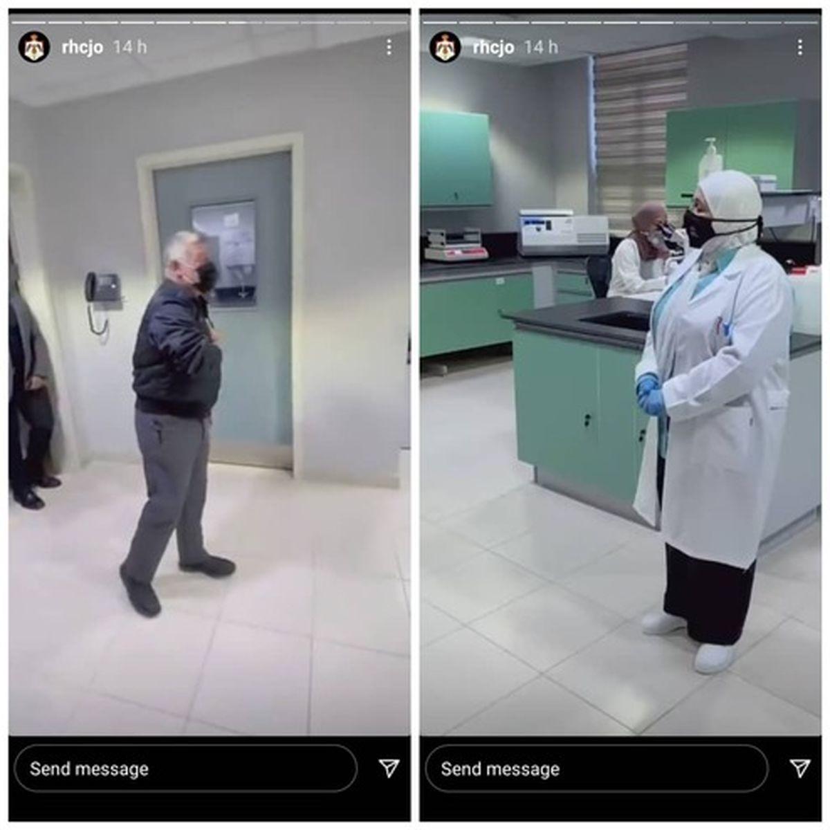 احترام پادشاه اردن به یک پزشک جهانی شد +عکس