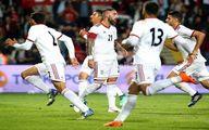 عکس: حرکت دژاگه بر خلاف سایر بازیکنان