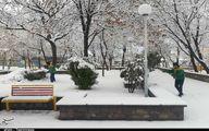 تصاویر: بارش برف پاییزی در آذربایجان شرقی