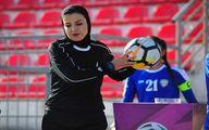 محرومیت عجیب داور زن فوتبال ایران!