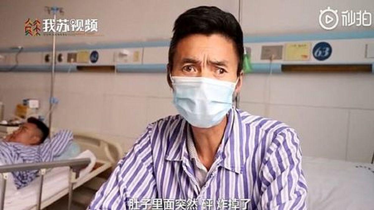 ترکیدن مرد چینی پس از صرف یک کاسه سوپ! +عکس