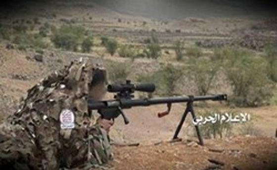 کشته شدن ۵۰ شبهنظامی در عملیات تکتیراندازان یمن