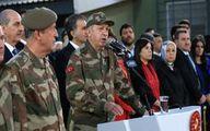خوانندگی ابراهیم تاتلیس کنار اردوغان در مرز سوریه