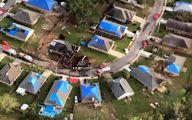 سقوط هواپیمای نیروی دریایی آمریکا در آلاباما +عکس