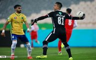 تصاویر: حرکات عجیب گل محمدی در بازی امروز پرسپولیس