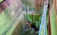 سقوط مرگبار کارگر به گودال ۲۰ متری +تصاویر