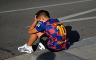 ماجرای نوجوانی که ۴ ساعت منتظر مسی بود، اما او نیامد! +عکس