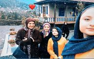 عکس: سارا و نیکا در کنار مامان هما در «پایتخت ۶»