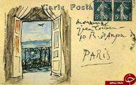 عکس: کارت پستال ارسالی از پیکاسو