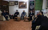 حضور عمار حکیم در منزل سپهبد شهید سلیمانی +عکس