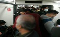 تصاویر: شلوغی اتوبوس و مترو تهران در روز اول تعطیلات