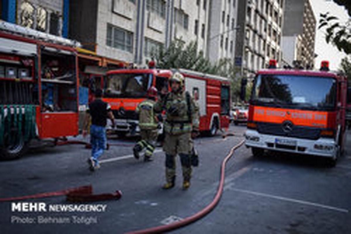 آخرین وضعیت آتش سوزی برجی در مشهد