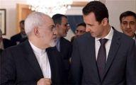 دیدار و گفتگوی ظریف با بشار اسد در دمشق