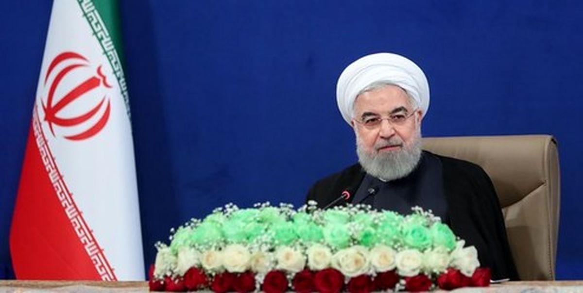 افتتاح طرحهای ملّی وزارت راه و شهرسازی توسط روحانی