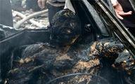 عکس/آدمسوزیدر آتش تروریستهای سوریه