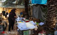 تصاویر: خانه به دوشی پس از باران