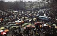 عکس: ترافیک تهران پس از اعلام خبر فرار شاه